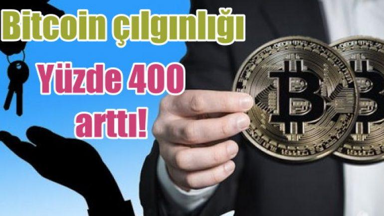 Bitcoin çılgınlığı yayılıyor!
