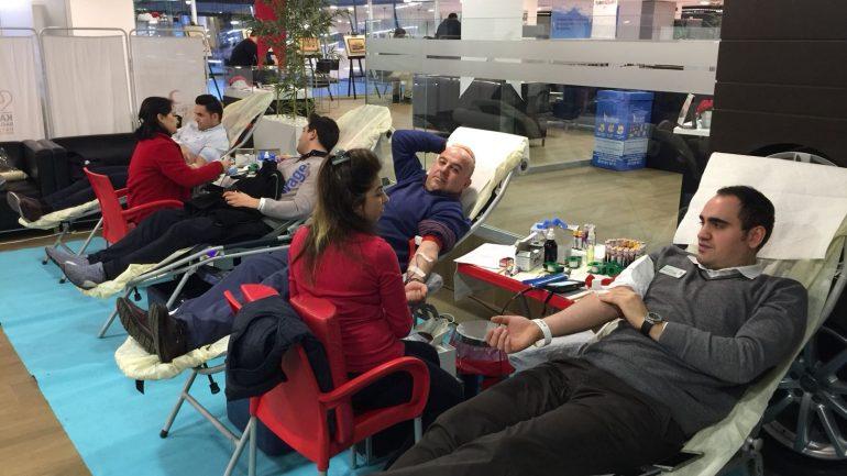 Avek Otomotiv çalışanlarından kan bağışına tam destek