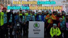 Avek Otomotiv, Türkiye'nin en büyük bisiklet buluşmasına sponsor oldu