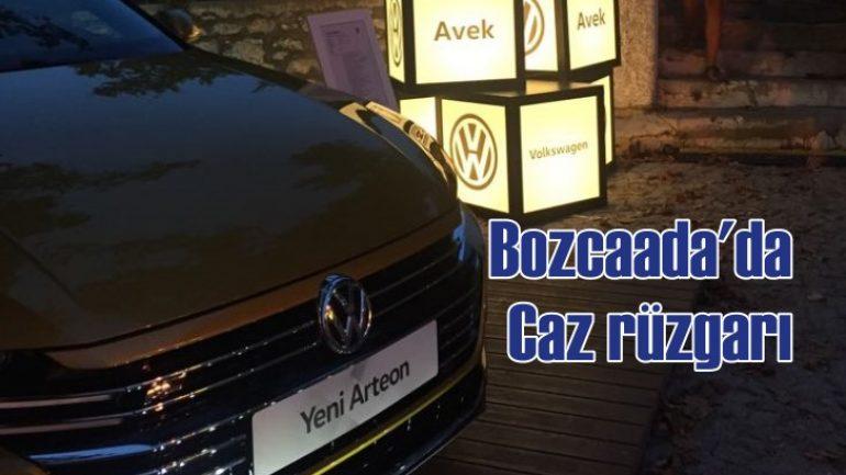 Bozcaada Avek Volkswagen'in desteğiyle bir kez daha caz ile buluştu