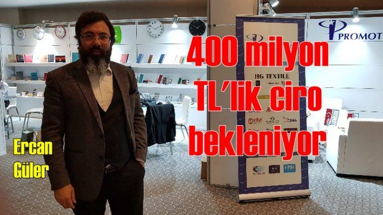 Promosyon Show'un ciro beklentisi 400 milyon TL