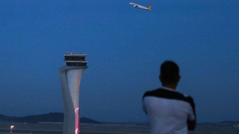 İstanbul Havalimanı'nda ilk kriz havada çözülmüş