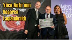 Yüce Auto'ya 'En İyi Distribütör' ödülü
