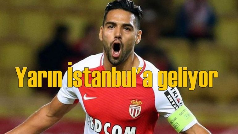 Radamel Falcao Galatasaray'da!