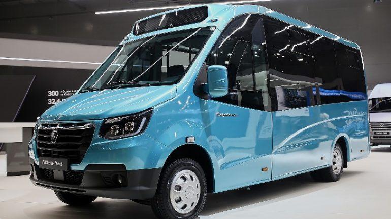 GAZ, 10 yeni modelini Moskova'da görücüye çıkardı