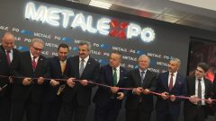 """Metal Expo fuarı """"Çelik Medeniyettir"""" sloganıyla açıldı"""