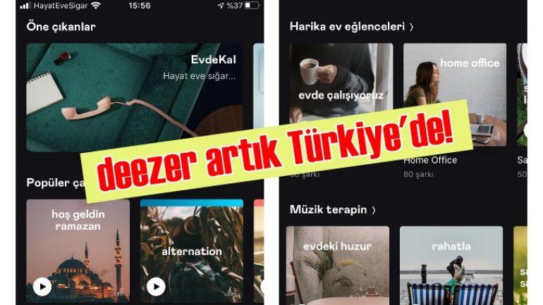 Milyonlarca müzik arşivi elinizin altında | Deezer artık Türkiye'de