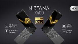 180 derece açılan Casper Nirvana X400 piyasaya çıktı