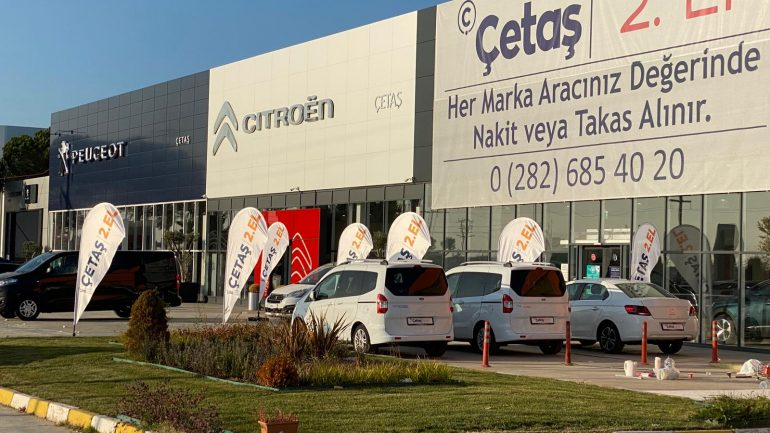 Çetaş'tan Çorlu'ya iki yeni bayi yatırımı