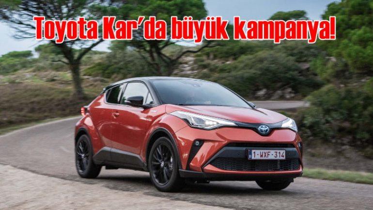 Toyota Plaza Kar'ın yeni yıl kampanyası otomobil sahibi yapacak